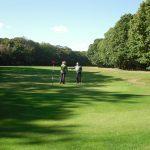 18th hole green